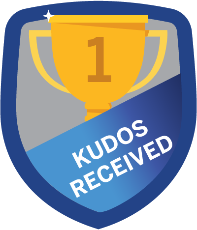 Kudos Received