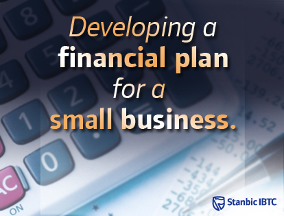 developing a financial plan for a small business standard bank