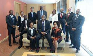 Stanbic Bank Botswana team