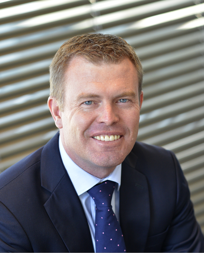 Gary Garrett, Head of Real Estate Finance for Corporate and Investment Banking at Standard Bank
