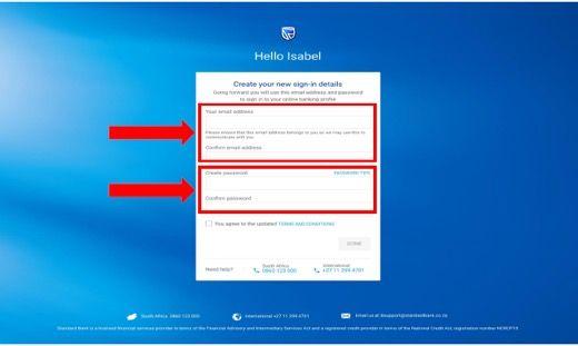 Step 2 Online Banking Registration