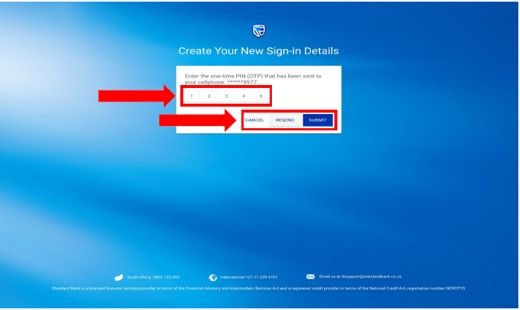 Step 4 Online Banking Registration