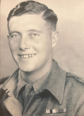 Bert Cook, circa 1940, in army uniform