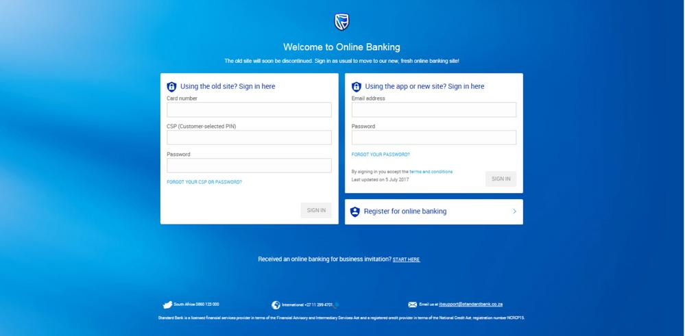 Step 1 Registering for new Online Banking