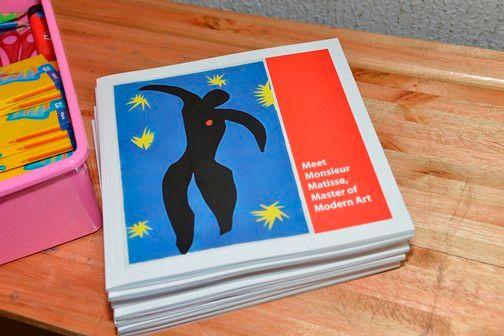Educational Matisse workbooks