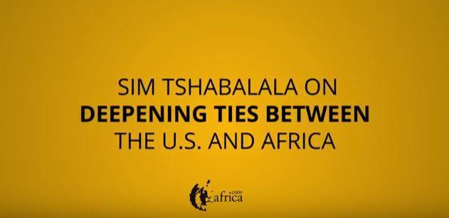 Sim T US Africa forum.JPG