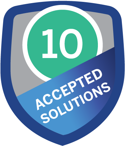 Accepted Solution 10