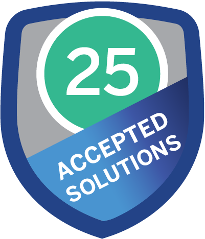 Accepted Solution 25