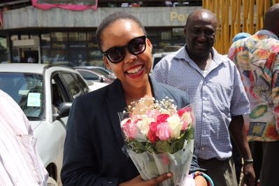 Journalist, Nikiwe Bikitsha bids farewell to Kenya.