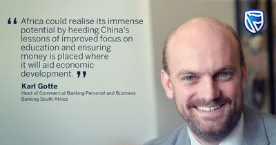 Karl Gotte, Head of Commercial Banking Personal and Business Banking South Africa.
