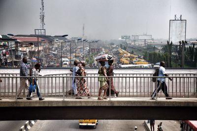 Oshodi market in Lagos