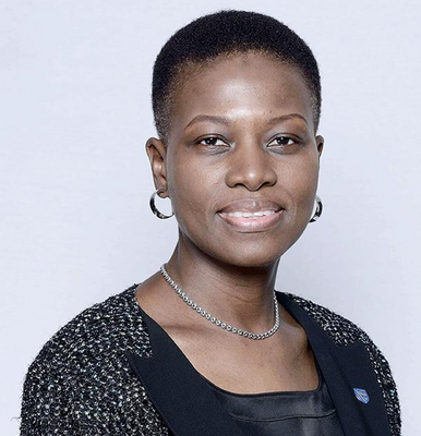"""""""We are offering the Global Fund the support of our 55 000 employees,"""" says Sola David-Borha, Africa Regions CE for Standard Bank Group."""