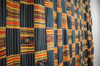 Artist Unrecorded. Asante (Ashanti). Ghana. Kente. Undated. Silk : Rayon. Standard Bank African Art Collection (Wits Art Museum) - Acquired 1997.jpg