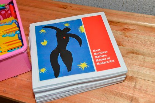 Educational Matisse workbooks